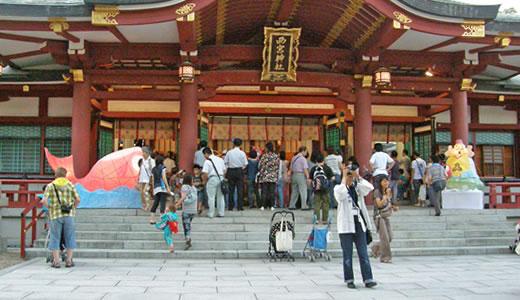 西宮神社夏まつり2010-1
