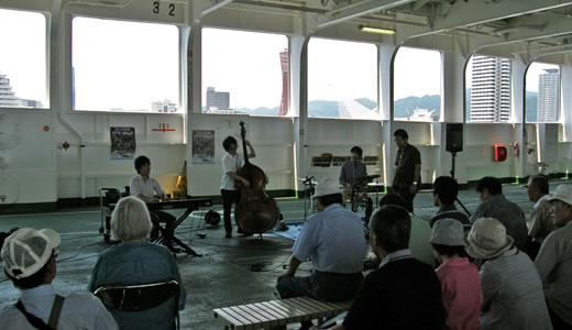神戸プラージュ2010(4)・フェリー船内見学会-2