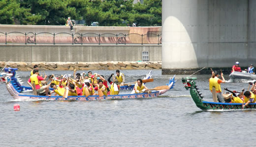 ASHIYA CUPドラゴンボートレース2010-1