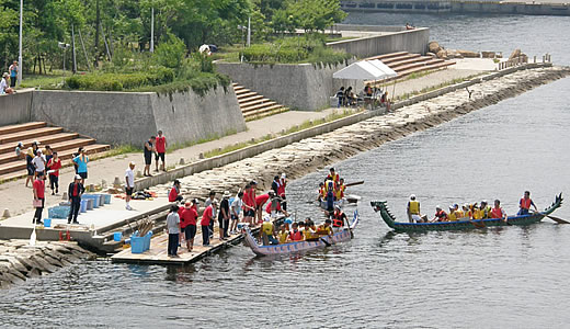 ASHIYA CUPドラゴンボートレース2010-3