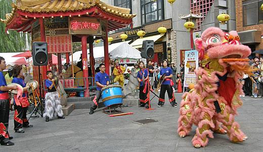 神戸南京町中秋節2010-2