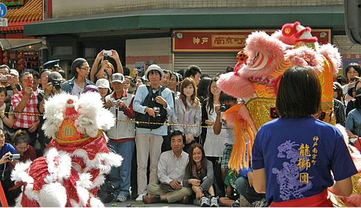 神戸南京町中秋節2010-4