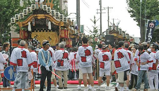 東灘区制60周年記念 だんじりパレード-1