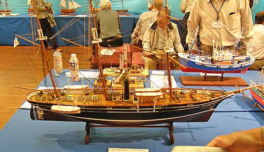 木製帆船模型作品展2010-1