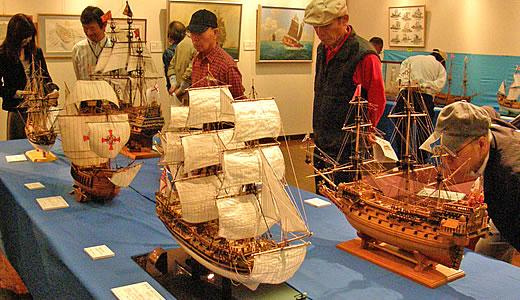 木製帆船模型作品展2010-2