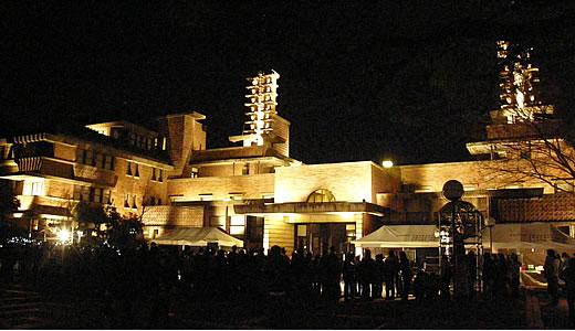 甲子園会館ライトアップ2010-1
