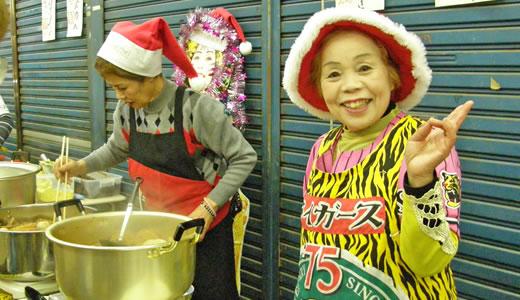 闇市の雰囲気復活か、尼崎横丁のクリスマス-2