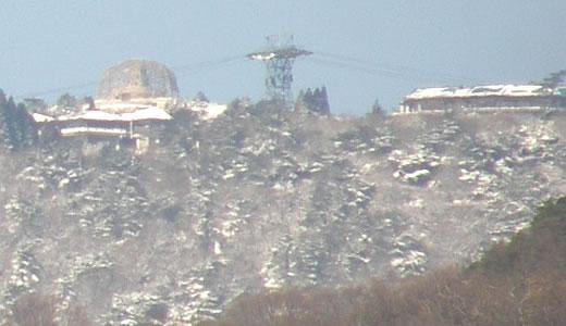 冬景色の六甲山・2011元旦