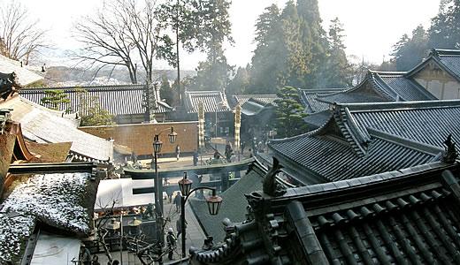 2011阪神・近鉄沿線初詣巡り・宝山寺(2)-1