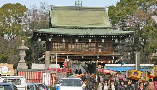 2011阪神・近鉄沿線初詣巡り・石切神社-2