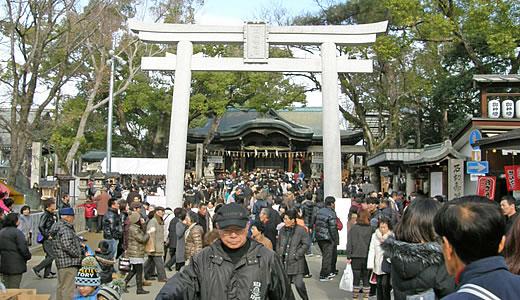 2011阪神・近鉄沿線初詣巡り・石切神社-3