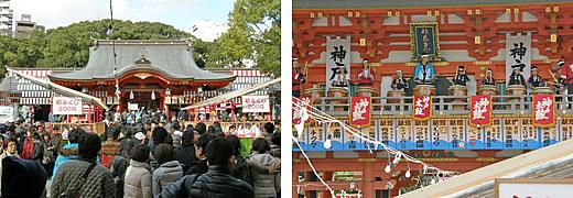2011阪神・近鉄沿線初詣巡り・阪神沿線-2