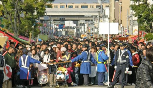 西宮神社十日えびす・有馬温泉献湯式2011-1