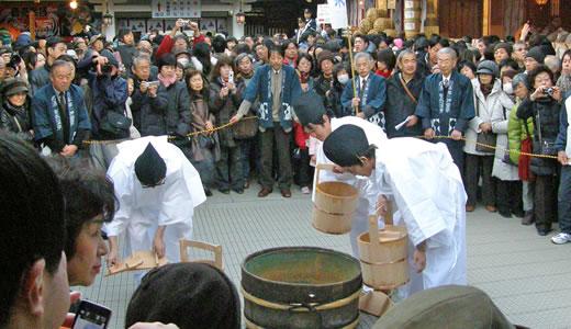 西宮神社十日えびす・有馬温泉献湯式2011-2