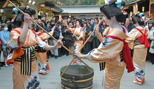 西宮神社十日えびす・有馬温泉献湯式2011-3