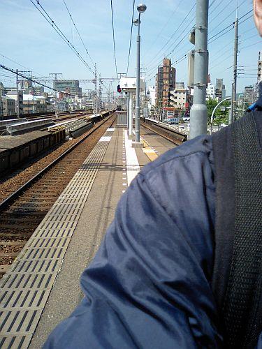 着いたのはこの駅です。