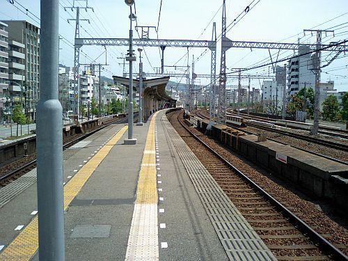 阪急春日野道駅でした。ヽ(^o^)丿