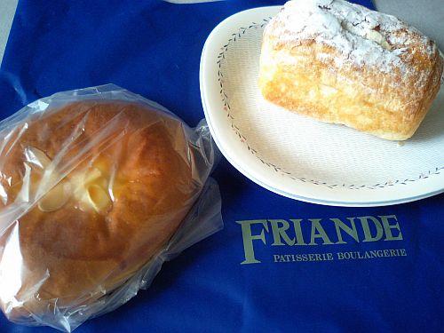 フリアンドのパン(*^。^*)