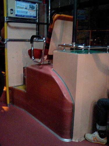 帰りのバス