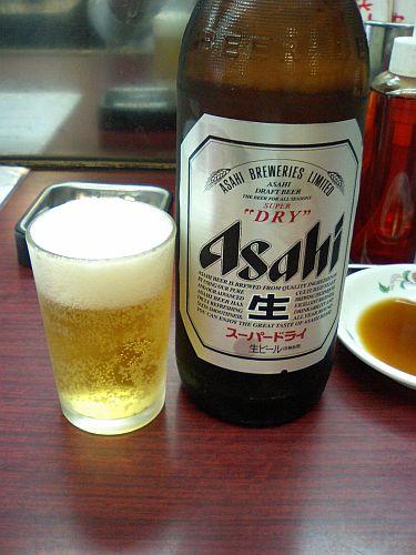 まずはビールから