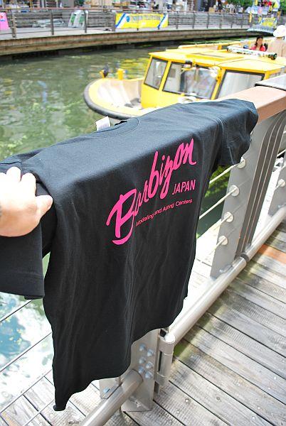 スタッフ用のTシャツです。(^o^)丿