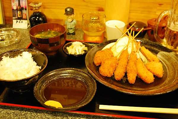 サンちゃんの串かつ膳