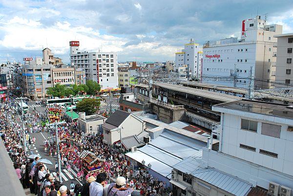 阪神御影駅周辺