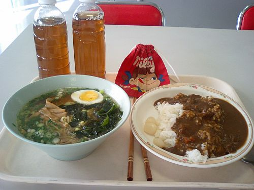 今日の昼ご飯