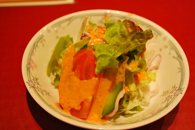 サラダ、普通に美味しいよ
