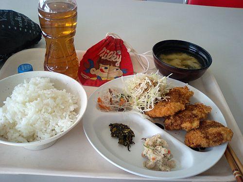 昼ご飯やで~!