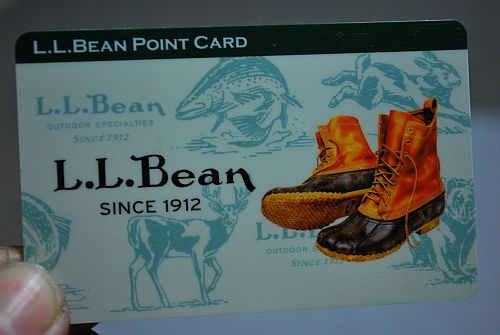 LLBeanのポイントカード