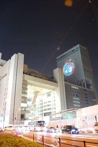 大阪駅ビルのスノーマン