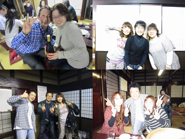 2013.1.12『ちゃんこ鍋de新年会』@長田古民家(^^♪