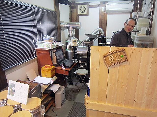 2013.2.16豆の匠でラテアート&長田神社前魚処『でぶ』♪