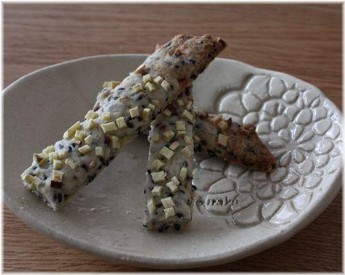 2012/1/18黒ゴマおさつクッキー2