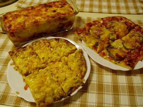 ピザ&グラタン