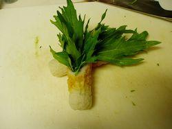 水菜in竹輪