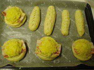 おから惣菜パン