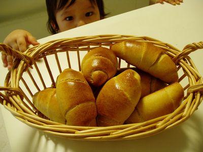 2008/7/15黒糖ロールパン2