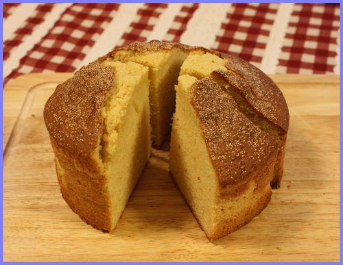 2009/1/21きび砂糖のカントリーケーキ