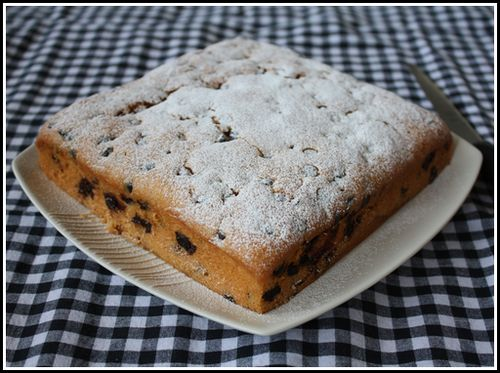 2009/6/17チョコチップケーキ1