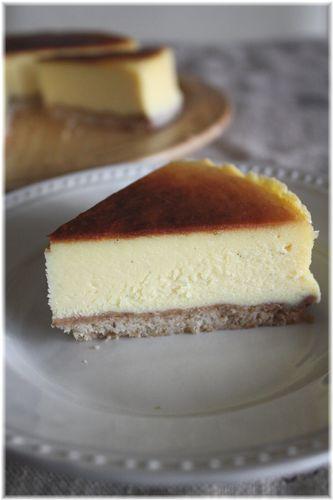 2009/10/13ベイクドチーズケーキ2