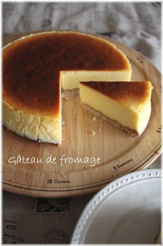 2009/10/13ベイクドチーズケーキ3