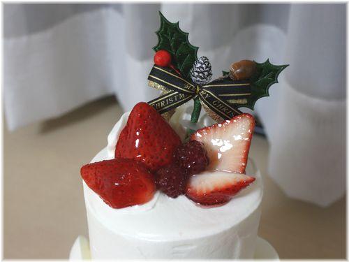 2010/12/25クリスマスケーキ