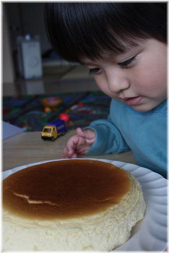 2011/2/14チーズケーキ3