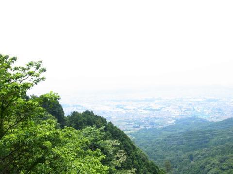 ヤビツからの風景