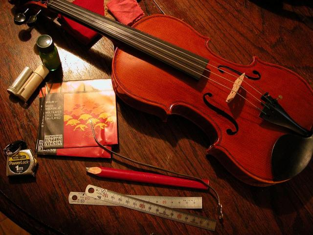 子供用分数バイオリン