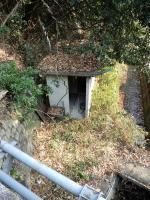 滝付近のトイレ