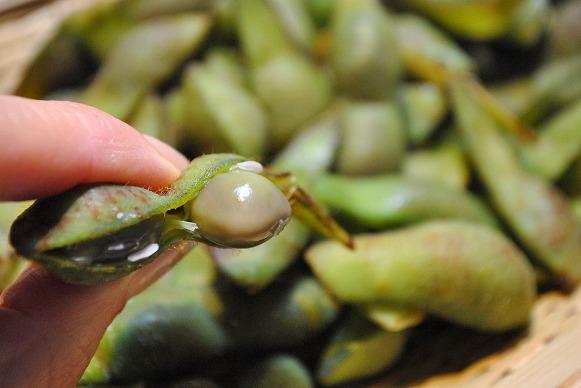 ゆで黒枝豆3