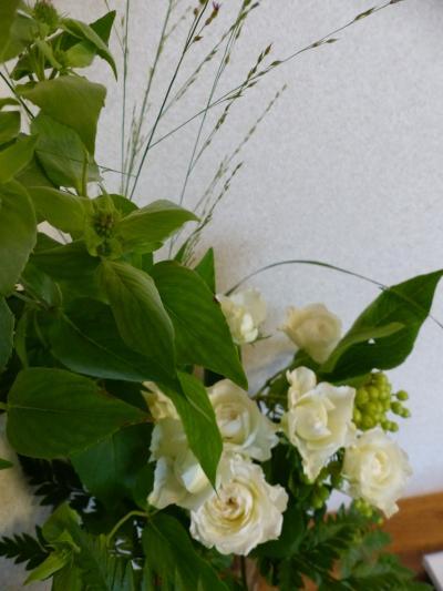 夏休みの生花
